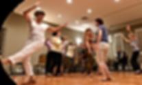 Adult women dancing