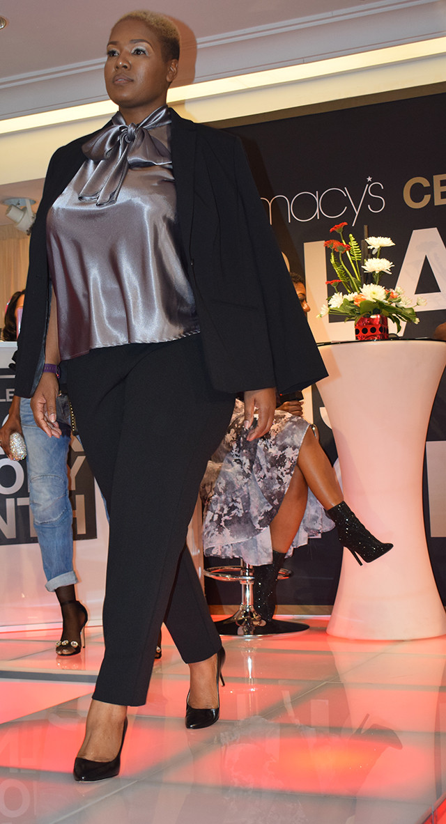 Macy's Black History Month Celebration in Atlanta at Lenox Mall; KD Reynolds Fashion Inspired by Ursula Burns