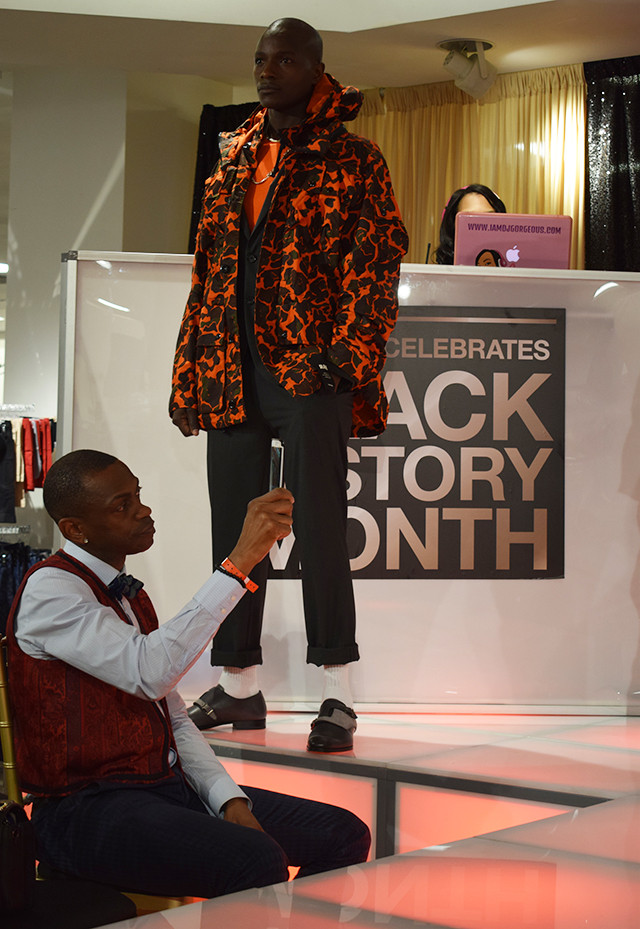 Macy's Black History Month Celebration in Atlanta at Lenox Mall; Brittany Boykin Fashion Inspired by Dapper Dan