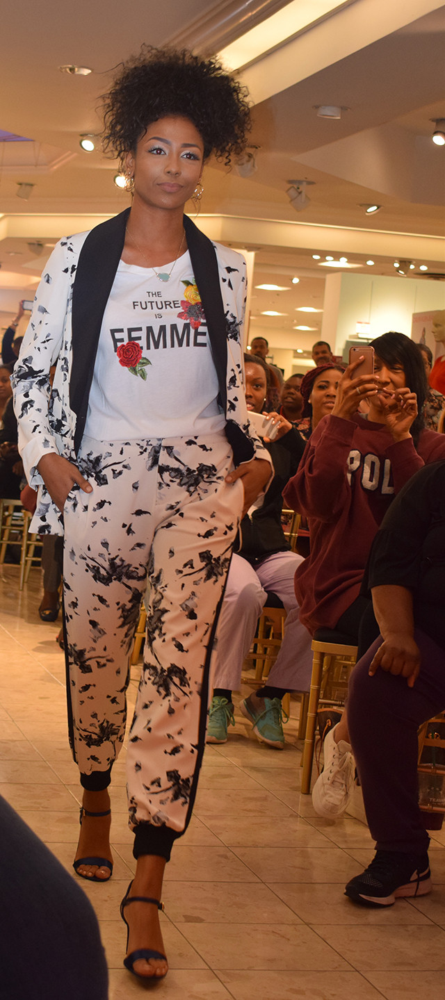 Macy's Black History Month Celebration in Atlanta at Lenox Mall; Izzy Marie Fashion Inspired by Ursula Burns