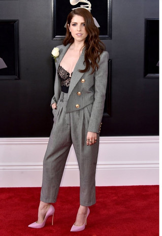 What Trend Dominated the Grammy Red Carpet?