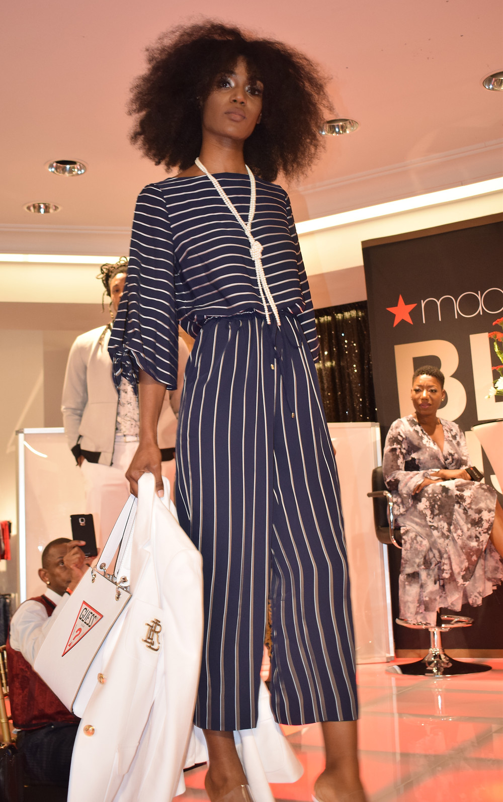 Macy's Black History Month Celebration in Atlanta at Lenox Mall; Gavon Owens Fashion Inspired by Ursula Burns