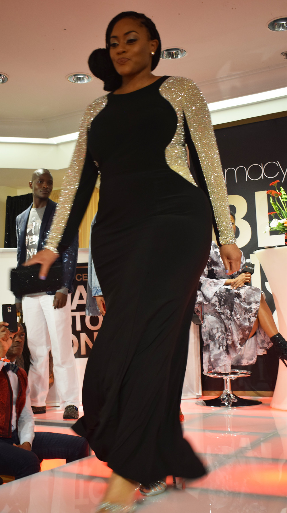 Macy's Black History Month Celebration in Atlanta at Lenox Mall; Izzy Marie Fashion Inspired by Michelle Obama