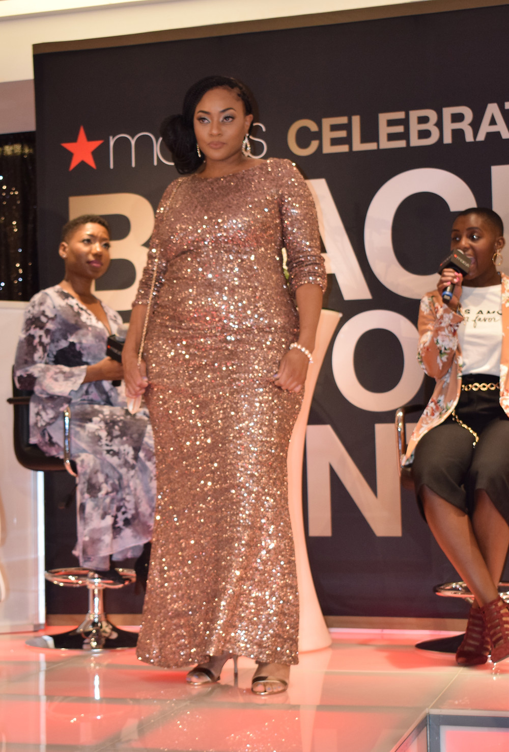 Macy's Black History Month Celebration in Atlanta at Lenox Mall; Brittany Boykin Fashion Inspired by Michelle Obama