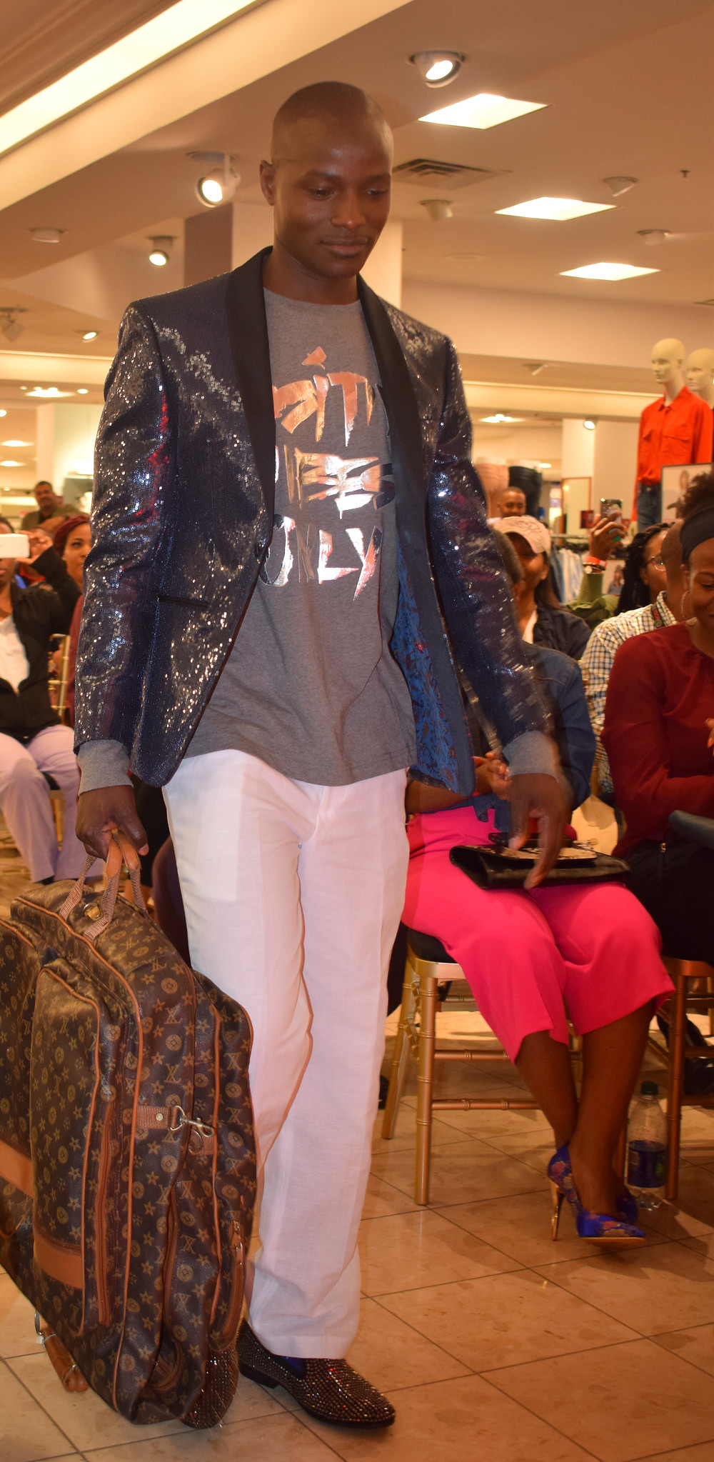 Macy's Black History Month Celebration in Atlanta at Lenox Mall; Izzy Marie Fashion Inspired by Dapper Dan