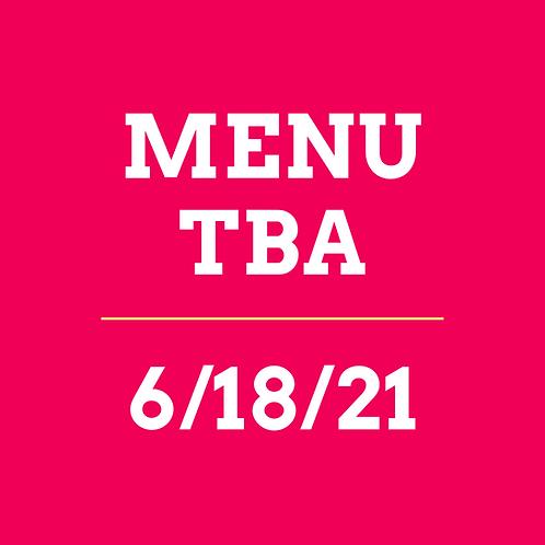 Virtual Cooking Class 6/18/21 - TBA