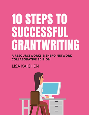 10 Steps to Successful Grantwriting Workbook by Lisa Kaichen (EBOOK)