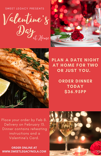 Sweet Legacy's Valentine's Day Flyer 202