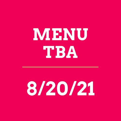 Virtual Cooking Class 8/20/21 - TBA
