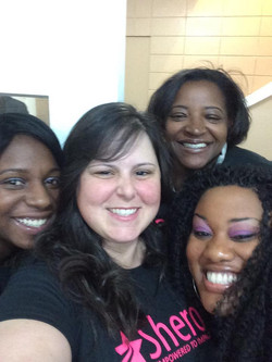 Jen, Tracy, Quesha and Alisha!