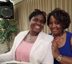 Kim and Tara...Sisters in Christ!