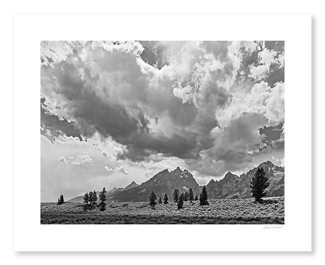 Clearing Storm, Cathedral Group, Grand Teton National Park