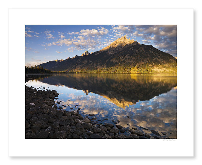 Sunrise, Jenny Lake