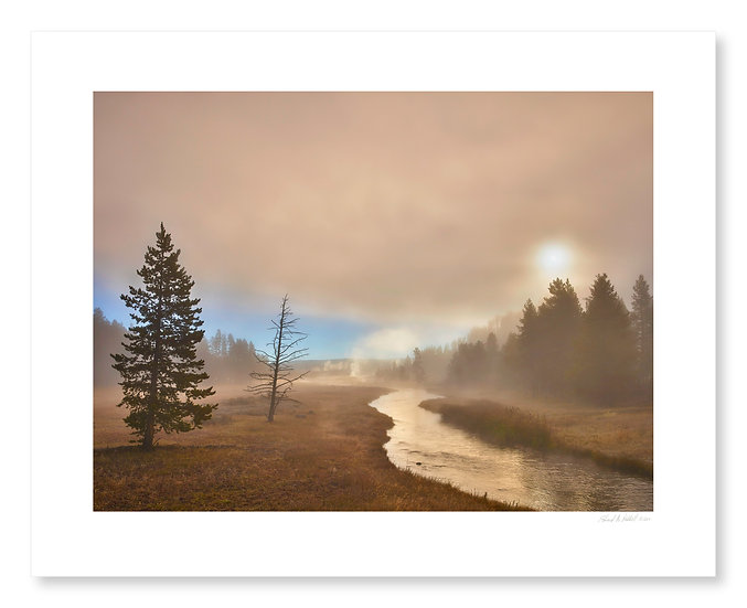Fog, Nez Perce Creek