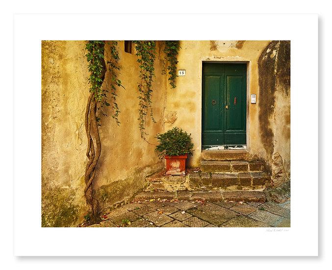 Doorway, Monticchiello