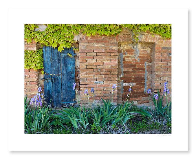 Blue Door, Val D'Orcia
