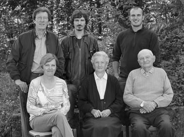 The Barici Family -- Pietro, Federico, Franceso, Graziella, Ada and Nello, 2013