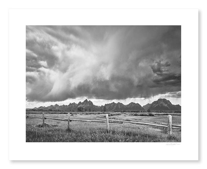 Elk Ranch Storm, Grand Teton National Park