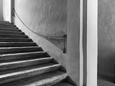 Stairway, San Quirico d'Orcia