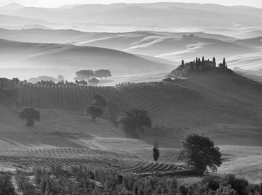 Dawn, Val d'Orcia
