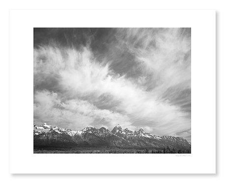 Cirrus Clouds, Teton Range