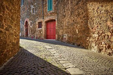 Montalcino back street