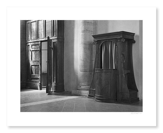 Confessional, Pienza