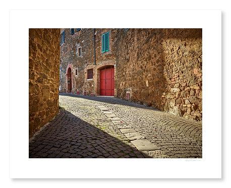 Back Street, Montalcino
