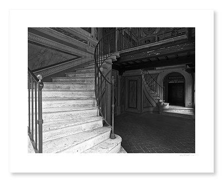 Stairway, Monte Olivetti Abbey
