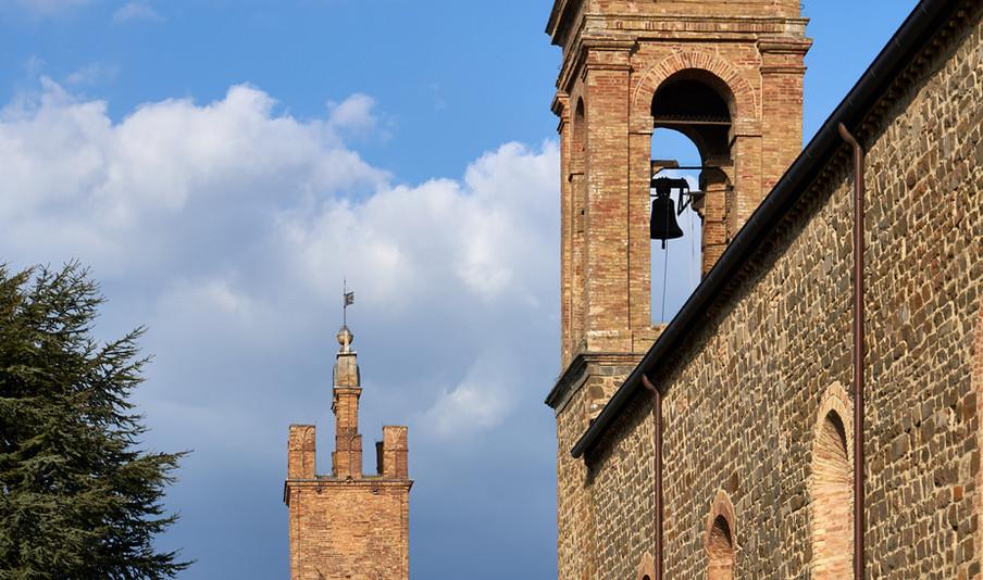 Il centro di Montalcino