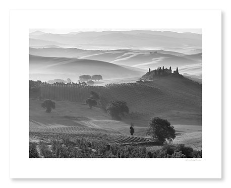 Morning Haze, Val D'Orcia