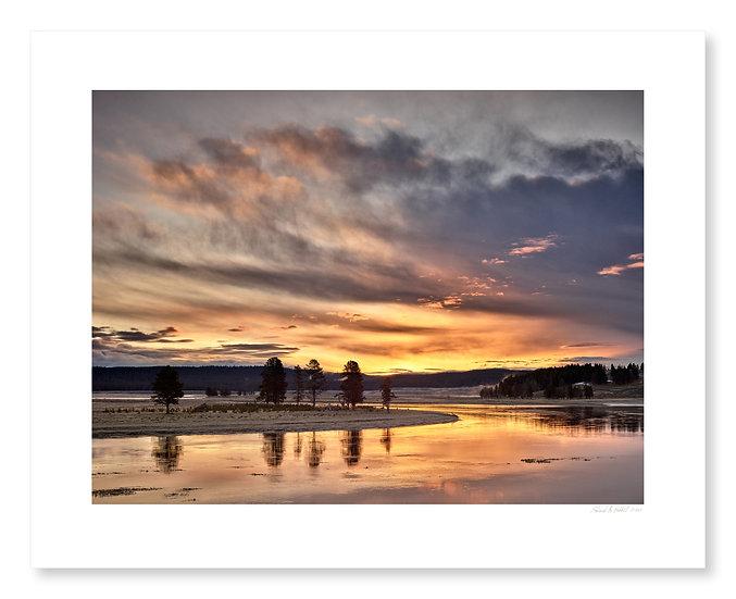 Sunrise, Alum Creek