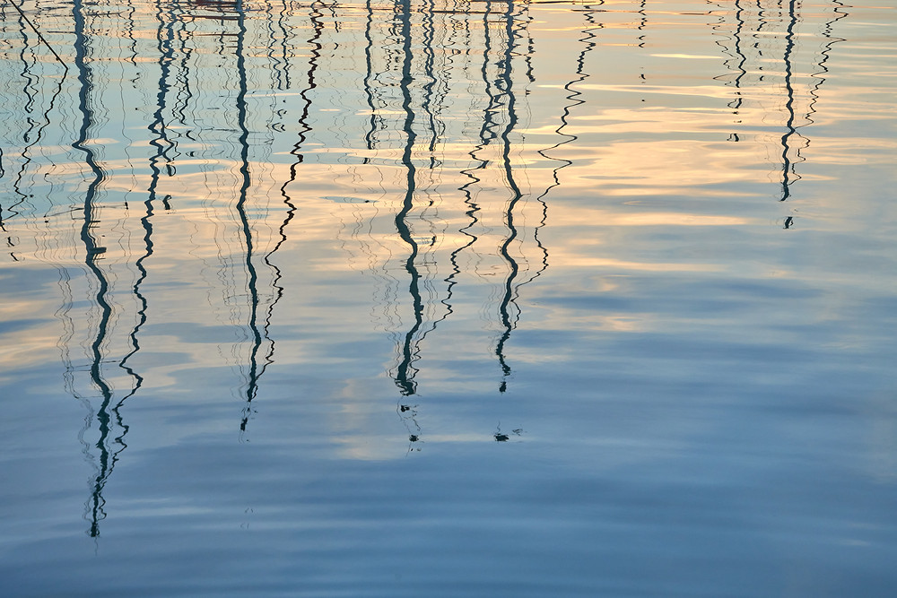 Reflections at Marina Scarlino