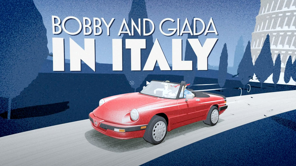 Promo for Bobby and Giada in Italy