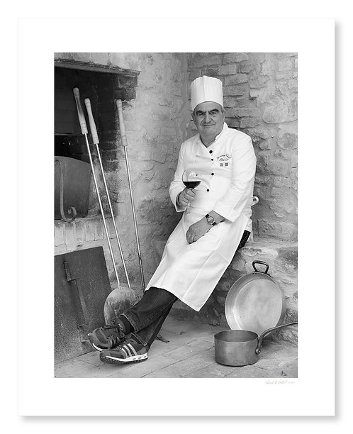 Chef Mario Cappannini, Montalcino, 2012