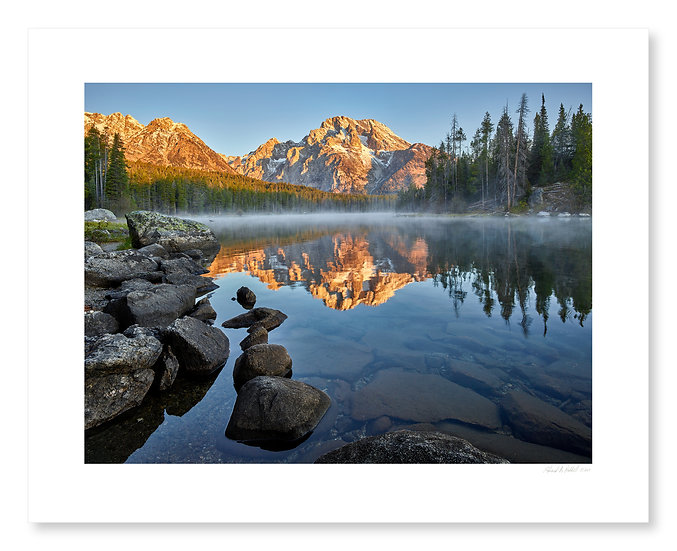 Sunrise, Leigh Lake