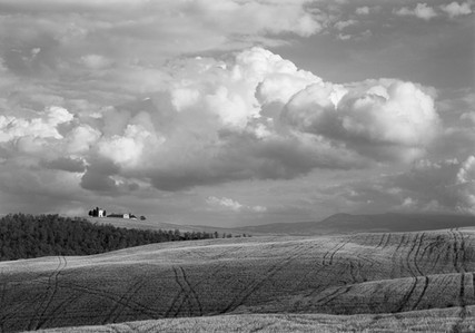 Thunderclouds, Val d'Orcia