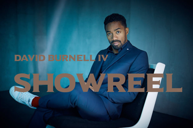 The brown US-American Actor in Munich Germany: Showreel