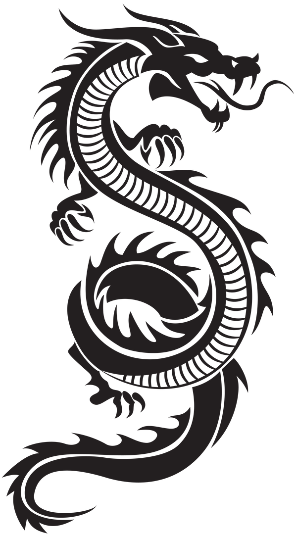 Chinese_Dragon_Silhouette_PNG_Clip_Art-2