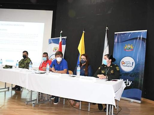 EL MINISTERIO DE DEFENSA ADELANTÓ UNA REUNIÓN DE SEGURIDAD PREVENTIVA EN PUERTO BOYACÁ