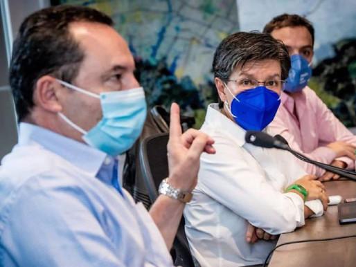 Alerta roja general en Bogotá por coronavirus