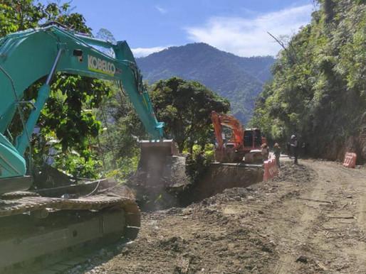 reabren las Autopista Medellín- Bogotá, pero con paso controlado