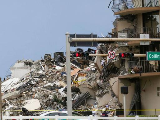 6 colombianos vivían en edificio que colapsó en Miami