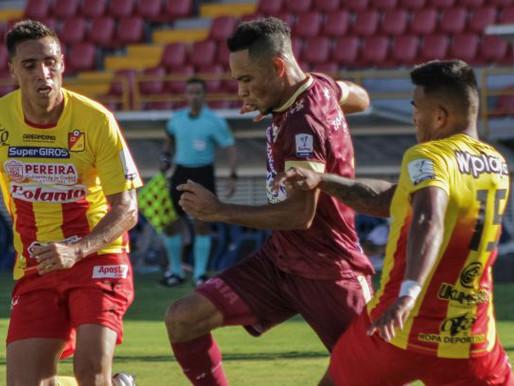 Tolima debuta en Liga BetPlay II con triunfo ante Pereira