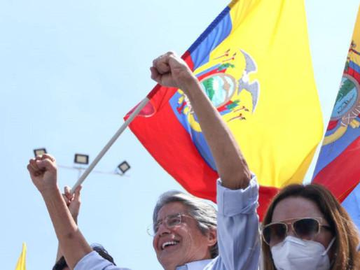 Guillermo Lasso gana las presidenciales de Ecuador