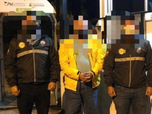 Capturaron a abogado en Ecuador, presunto asesino de una caldense