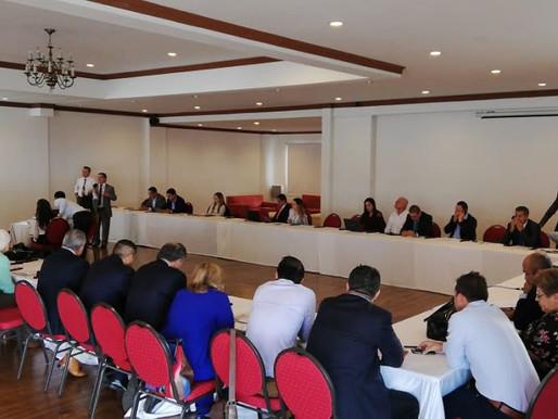 GOBIERNO DE CALDAS TRABAJA CON LOS ALCALDES PARA AVANZAR EN PROYECTOS CONJUNTOS EN LOS MUNICIPIOS.