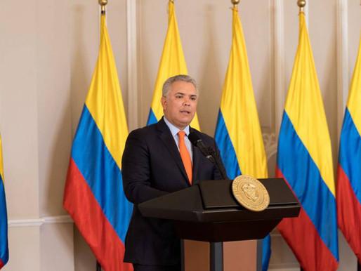 Duque pide a EE.UU declarar a Venezuela como país promotor de terrorismo