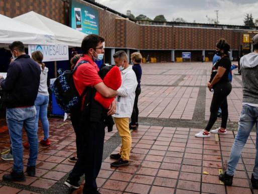 Este miércoles se reportaron 1.224 casos nuevos de Covid-19 en Colombia