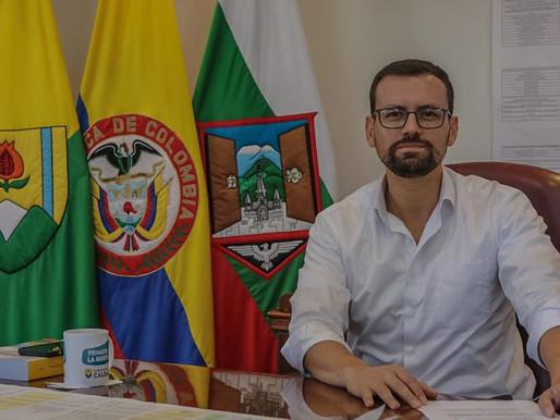 GOBERNADOR DE CALDAS, POSITIVO PARA COVID-19. EL MANDATARIO CONTINUARÁ CON SU AGENDA LABORAL